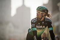 Daniel OSS (ITA/BORA-Hansgrohe) returning from sign-on<br /> <br /> 103rd Ronde van Vlaanderen 2019<br /> One day race from Antwerp to Oudenaarde (BEL/270km)<br /> <br /> ©kramon