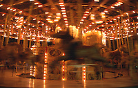 France A Parisian 19th century merry go round