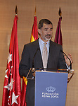 King Felipe VI of Spain attends the 40th anniversary of Reina Sofia Alzheimer Foundation. May 21 ,2017. (ALTERPHOTOS/Pool)
