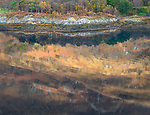Glencoe; Scotland, Autumn; fall; fallcolor; reflection, water, lake, still, calm, color, sunlight Loch Leven; loch
