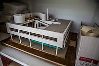 Poissy- Le Corbusier Villa Savoye maquette