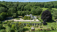 BNPS.co.uk (01202) 558833<br /> Pic: KnightFrank/BNPS<br /> <br /> Manifique - It has stunning views over the surrounding landscape, including Yarner Wood.<br /> <br /> A historic English country estate with a French chateau feel and royal connections is on the market for £5.5m.<br /> <br /> The site of Grade II listed Yarner House was once governed by William the Conqueror, mentioned in the Domesday Book and a popular hunting site in Tudor times.<br /> <br /> The seven-bedroom house sits in a 247-acre estate on the edge of Dartmoor National Park and has stunning views over the surrounding landscape, including Yarner Wood.<br /> <br /> The ancient woodland was once part of the property until 1952 when it was sold to the Nature Conservancy to become one of the first national nature reserves.<br /> <br /> Where the current Yarner House is built, it is thought to have had a hunting lodge in Tudor times, with connections to Henry VII, Henry VIII, Edward VI and Queen Mary.