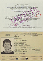 "COPY BY TOM BEDFORD<br /> Pictured: A cancelled passport once belonged to actor Patrick Swayze that was sold at auction<br /> Re: The iconic black leather jacket worn by Patrick Swayze in the hit film Dirty Dancing has sold for $50,000 (£38,612) at auction.<br /> It was bought by a fan after the tragic actor's wife decided to sell his movie memorabilia. <br /> The jacket had a reserve of just $6,000(£4,630) at the auction in Los Angeles but an internet bid of $25,000(£19,300) was received before the auction started.<br /> The salesroom erupted with applause when the hammer came down at $50,000.<br /> Auctioneer Darren Julien said: ""We always knew it would fetch big bucks.<br /> ""The jacket is the holy grail for Patrick Swayze fans and there are a lot out there.""  <br /> The heart throb actor wore the James Dean-style jacket throughout Dirty Dancing including the  scene where he says: ""Nobody puts Baby in a corner"".<br /> The jacket belonged to Swayze before the movie was made in 1987.<br /> Dirty Dancing was a low-budget movie and most of the clothes Swayze's wore were his own, including the leather jacket.<br /> Mr Julien said: ""Because it was his jacket he got to keep it after the movie and wore it whenever he felt like it."