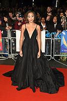 "Amandla Stenberg<br /> arriving for the London Film Festival screening of ""The Hate U Give"" at the Cineworld Leicester Square, London<br /> <br /> ©Ash Knotek  D3452  20/10/2018"