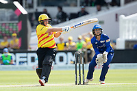 Rachel Priest, Trent Rockets pulls top the square boundary for four runs during London Spirit Women vs Trent Rockets Women, The Hundred Cricket at Lord's Cricket Ground on 29th July 2021