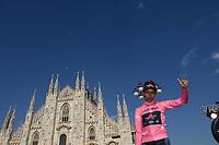 30th May 2021; 104th Giro d Italia 2021, 21st stage Senago to Milan, Italy;  IneGrenadiers Bernal Gomez, Arley Milano - celebrates on the podium