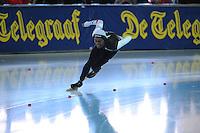 SCHAATSEN: ERFURT: Gunda Niemann-Stirnemann Halle, 02-03-2013, Essent ISU World Cup, Season 2012-2013, 1000m Men A, Shani Davis (USA), ©foto Martin de Jong