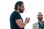 "Ola Rapace pose to the media during the presentation of the film ""Ares"" at Festival de Cine Fantastico de Sitges in Barcelona. October 11, Spain. 2016. (ALTERPHOTOS/BorjaB.Hojas)"