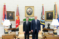 President Trump and President Macron of France (Official White House Photo by Shealah Craighead)