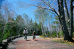 Biking in the Spring, Acadia National Park, Maine, USA