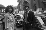 STELLA PENDE E GIGI PROIETTI ROMA 1980