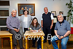 Storyteller In Residence: Pictured at the Storyteller in Residence at Kerry Writers Museumon Friday last were Sean McCarthy, Cara Trant, Manger Kerry Writers Museum, Storyteller Maria Gillen , David Browne, Chairman Kerry Writers Museum & Paddy O'Regan.