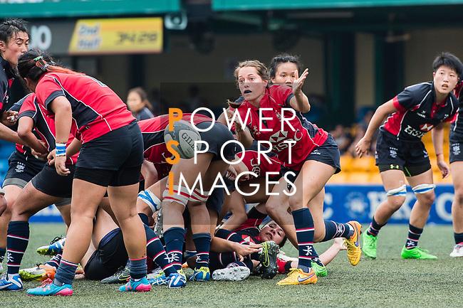 Lindsay Varty of Lions (C) in action during the Women's National Super Series 2017 on 13 May 2017, in Hong Kong Football Club, Hong Kong, China. Photo by Marcio Rodrigo Machado / Power Sport Images