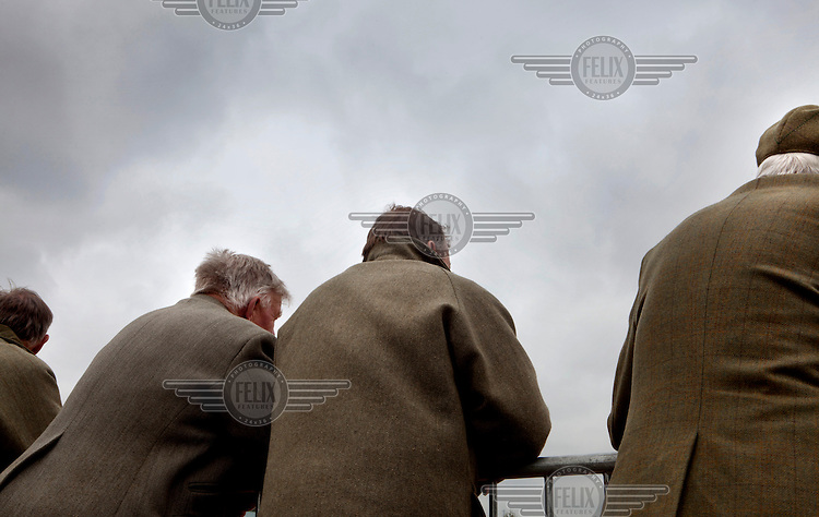 Tweed clad farmers at the Royal Bath and West Show.