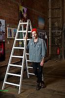 Portraits vom Kunst Fotografen Peter Hauser an der Jungkunst in Winterthur am 19. Oktober 2013 in der Halle 52 am Katharina Sulzer Platz in Winterthur<br /> <br /> Copyright © Zvonimir Pisonic