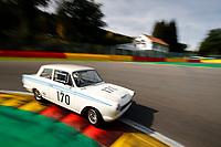 HISTORIC TOURING CAR CHALLENGE - #170 JEWELL MARCUS (GB) CLUCAS BEN (GB) LOTUS CORTINA 1964