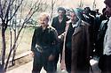 Iraq 1991  <br /> Anwar Beg Betwata welcoming Masoud Barzani in Betwata  <br /> Irak 1991 <br /> Anwar Beg Betwata recevant Masoud Barzani  a Betwata