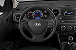 Car pictures of steering wheel view of a 2019 Hyundai i10 Twist 5 Door Hatchback Steering Wheel