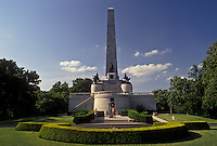 Abraham Lincoln, Springfield, IL, Illinois, The Lincoln Tomb at Oak Ridge Cemetery in Springfield.