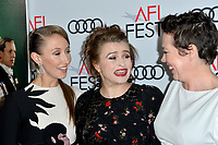 """LOS ANGELES, USA. November 17, 2019: Erin Doherty, Helena Bonham Carter & Olivia Colman at the gala screening for """"The Crown"""" as part of the AFI Fest 2019 at the TCL Chinese Theatre.<br /> Picture: Paul Smith/Featureflash"""