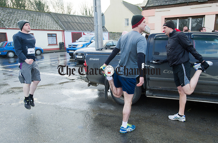 Gearoid Reidy, during the West Clare Mini Marathon from Carrigaholt to Kilkee. Photograph by John Kelly.