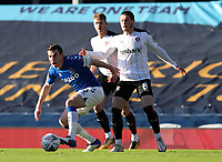9th January 2021; Goodison Park, Liverpool, Merseyside, England; English FA Cup Football, Everton versus Rotherham United; Ben Wiles of Rotherham United fouls Seamus Coleman of Everton