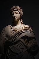 Museo Archeologico di Olimpia   Statua in marmo di Poppea. Prima metà del I secolo d.C. Patrimonio Unesco