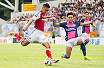 Kitchee SC plays South China during The HKJC Community Cup of Hong Kong 2014 on August 31, 2014 at the Mong Kok stadium in Hong Kong, China. Photo by Chung Yan Man / Power Sport Images