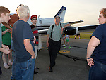 Friends of Hartzell Air Show 2015 at Piqua Hartzell Airport on September 8, 2015.
