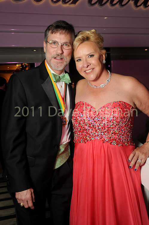 """Sally and Robert Kline at the San Luis Salute """"Space Pirates"""" VIP reception Friday February 24,2017. (Dave Rossman Photo)"""