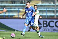 Piotr Zielinski Empoli <br /> Empoli 04-10-2015 Stadio Castellani Football Calcio Serie A 2015/2016 Empoli - Sassuolo Foto Andrea Staccioli / Insidefoto