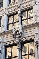 Ben Franklin birthplace, Milk Street, Boston, MA the Transcript Building