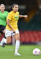 August 03, 2012 - Brazil's Marta in action during group F match between JPN and BRA at the Millennium Stadium. .