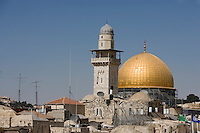 Asie/Israël/Judée/Jérusalem: Dôme du rocher à Jérusalem