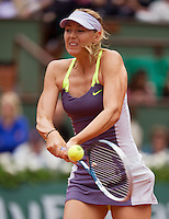 01-06-13, Tennis, France, Paris, Roland Garros,  Maria Sharapova