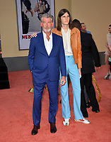 """LOS ANGELES, USA. July 23, 2019: Pierce Brosnan & Dylan Brosnan at the premiere of """"Once Upon A Time In Hollywood"""" at the TCL Chinese Theatre.<br /> Picture: Paul Smith/Featureflash"""