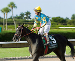 10 July 2010: Mother Ruth and Jockey Robby Albarado after the Princess Rooney Handicap at Calder Race Course in Miami Gardens, FL.