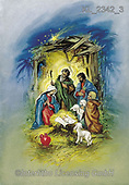 Interlitho-, HOLY FAMILIES, HEILIGE FAMILIE, SAGRADA FAMÍLIA, paintings+++++,holy family,shepherds,KL2342/3,#xr#