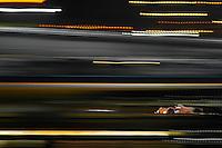 Streaking through the night at the Rolex 24 at Daytona, Daytona International Speedway, Daytona Beach, FL, January 2014.  (Photo by Brian Cleary/www.bcpix.com)