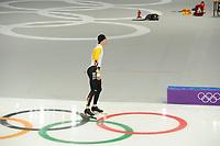 OLYMPIC GAMES: PYEONGCHANG: 09-02-2018, Gangneung Oval, Training session, Mathias Vosté (BEL), ©photo Martin de Jong