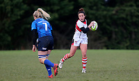 Sunday 3rd December 2017; Ulster Women vs Leinster Women<br /> <br /> Larissa Muldoon during the Women's Inter-Pro between Ulster and Leinster at Dromore RFC, Barbon Hill, Dromore, County Down, Northern Ireland. Photo by John Dickson / DICKSONDIGITAL