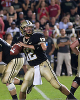 06 October 2007: Purdue quarterback Curtis Painter (12)..The Ohio State Buckeyes defeated the Purdue Boilermakers 23-7 on October 06, 2007 at Ross-Ade Stadium, West Lafayette, Indiana.