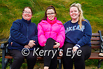 Enjoying a stroll on Ballybunion beach on Saturday, l to r: Liz, Sarah and Linda O'Grady.