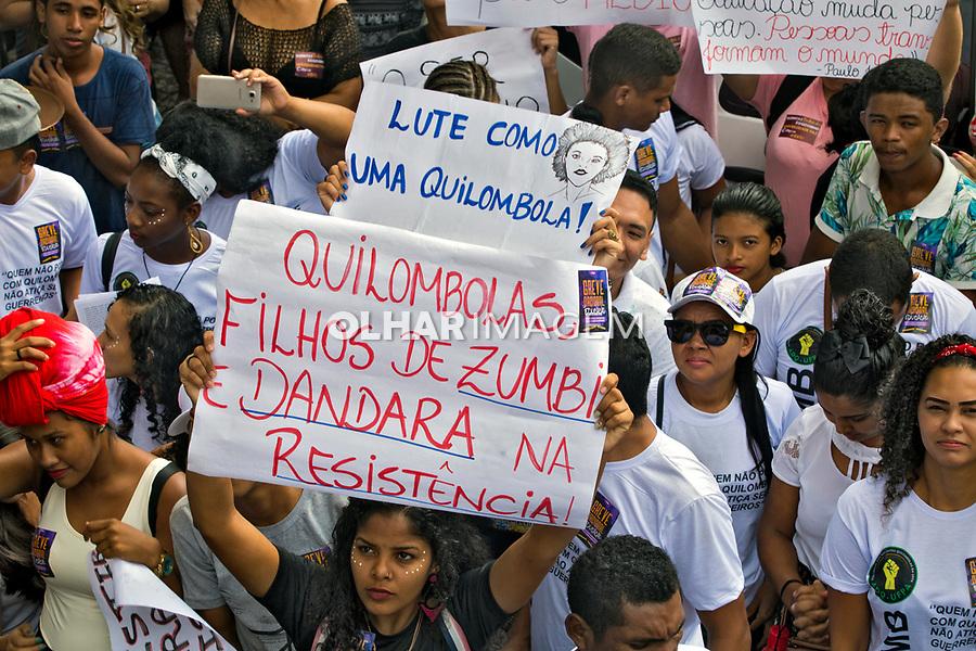 Manifestaçao contra cortes na educaçao, Belem. Para. 15.05.2019. Foto Olga Leiria