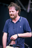 Torhout/Werchter Festival - Torhout - Belgium - 03/07/1993<br /> The Tragically Hip<br /> Gordon Downie<br /> Photo: KNIPS/ DALLE