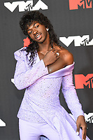 NEW YORK, NY- SEPTEMBER 12: Lil Nas X at the 2021 MTV Video Music Awards at Barclays Center on September 12, 2021 in Brooklyn,  New York City. <br /> CAP/MPI/JP<br /> ©JP/MPI/Capital Pictures