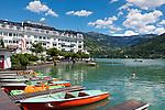 Oesterreich, Salzburger Land, Pinzgau, Zell am See: Grand Hotel Zell am See | Austria, Salzburger Land, Pinzgau, Zell at Zeller Lake: Grand Hotel Zeller Lake