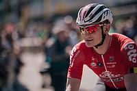André Greipel (DEU/Lotto-Soudal) to sign-on<br /> <br /> Stage 5: Lorient > Quimper (203km)<br /> <br /> 105th Tour de France 2018<br /> ©kramon