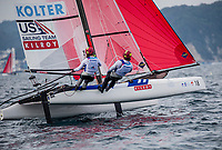 Enoshima ,Round one of the 2020 World Cup Series. © Jesus Renedo / Sailing Energy / World Sailing<br /> 27 August, 2019.