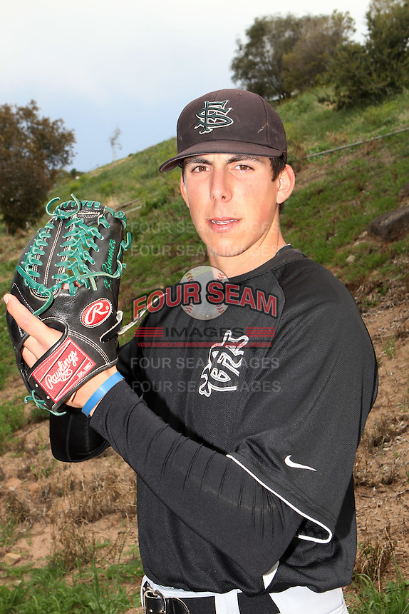 Kyle Zimmer #10 of the University of San Francisco Dons before a game against the Pepperdine Waves at Eddy D. Field Stadium on May 6, 2012 in Malibu,California. (Larry Goren/Four Seam Images)